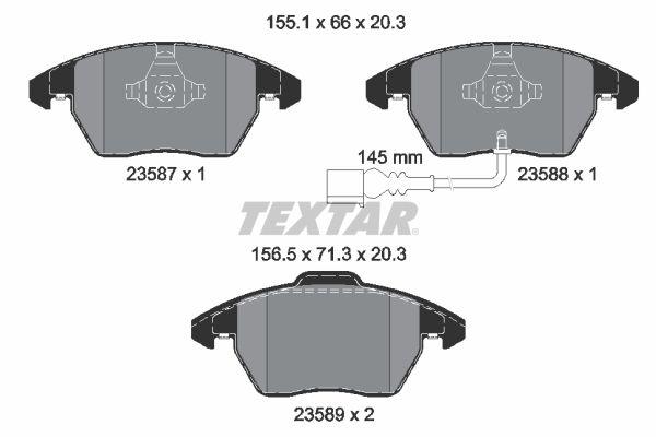 Artikelnummer 8760D1107 TEXTAR Preise