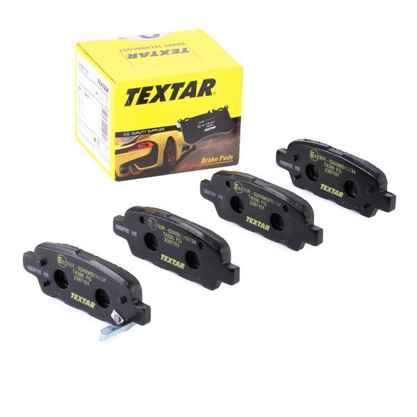 Bremsklötze TEXTAR 24453 Erfahrung