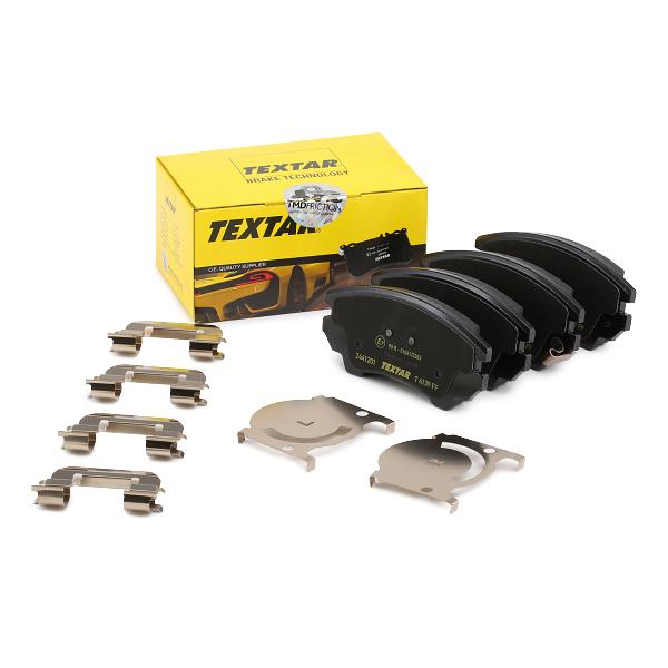 Disk Pads TEXTAR 24413 expert knowledge