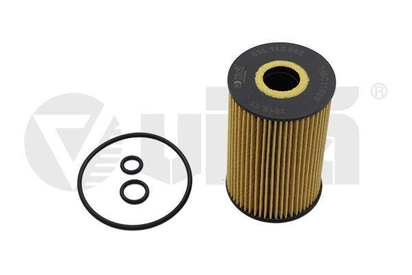 VIKA  11150562401 Oil Filter Ø: 65mm, Ø: 65mm, Height: 101mm