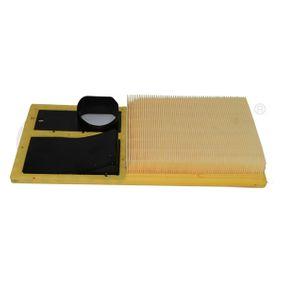 Luftfilter Länge: 372mm, Breite: 190mm, Höhe: 42mm, Länge: 372mm mit OEM-Nummer 036-129-620H