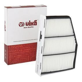 Filter, Innenraumluft Breite: 207mm, Höhe: 34mm mit OEM-Nummer 1K0-819-644B