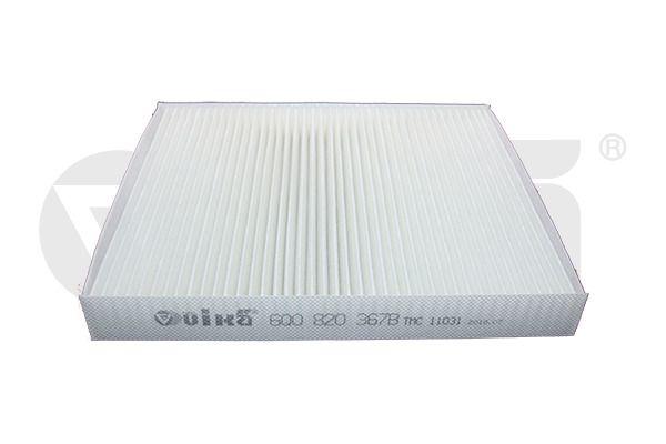 VIKA  18200184501 Filter, interior air Length: 252mm, Width: 216mm, Height: 32mm