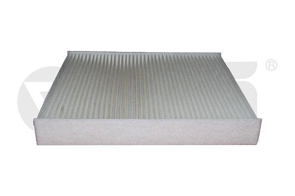 VIKA  18200911801 Filter, interior air Length: 252mm, Width: 216mm, Height: 32mm