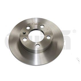 Polo 9n 1.2 12V Bremsscheiben VIKA 66150021101 (1.2 12V Benzin 2008 BZG)