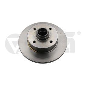 Bremsscheibe Bremsscheibendicke: 10mm, Lochanzahl: 4, Ø: 226mm, Ø: 226mm mit OEM-Nummer 6N0615601