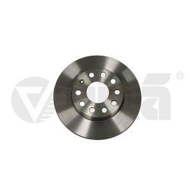 Bremsscheibe Bremsscheibendicke: 12mm, Lochanzahl: 9, Ø: 256mm, Ø: 260mm mit OEM-Nummer 1K0 615 601AC