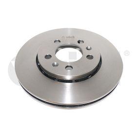 Brake Disc Brake Disc Thickness: 22mm, Num. of holes: 5, Ø: 256mm, Ø: 256mm with OEM Number 6QD 615 301