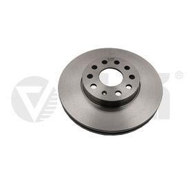 Bremsscheibe Bremsscheibendicke: 25mm, Lochanzahl: 5, Ø: 288mm, Ø: 288mm mit OEM-Nummer 1K0 615 301 T