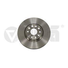 Bremsscheibe Bremsscheibendicke: 25mm, Lochanzahl: 5, Ø: 312mm, Ø: 312mm mit OEM-Nummer 1K0 615 301 AA