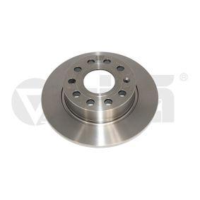 Bremsscheibe Bremsscheibendicke: 10mm, Lochanzahl: 9, Ø: 253mm, Ø: 253mm mit OEM-Nummer 5C0 615 601