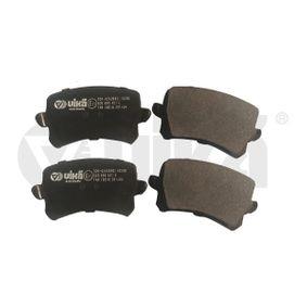 Bremsbelagsatz, Scheibenbremse Breite: 105,5mm, Höhe: 56mm, Dicke/Stärke: 17mm mit OEM-Nummer 3C0698451F