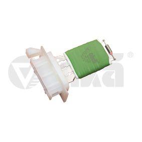 Odpor, vnitřní tlakový ventilátor 89590794801 Octa6a 2 Combi (1Z5) 1.6 TDI rok 2009