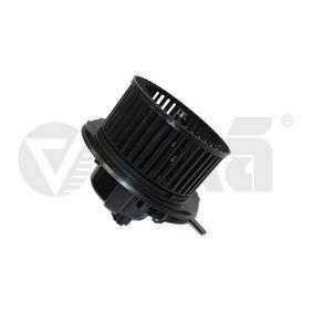 Interior Blower Voltage: 12V, Number of connectors: 2 with OEM Number 1KD819015