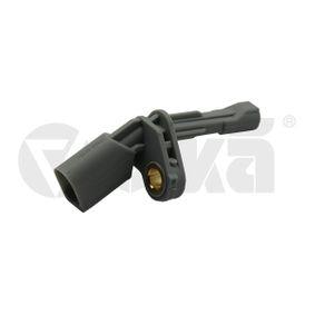 Sensor, Raddrehzahl Pol-Anzahl: 2-polig mit OEM-Nummer WHT003859A