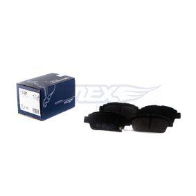 TOMEX brakes Jogo de pastilhas para travão de disco 16-24 com códigos OEM 1J0698451H