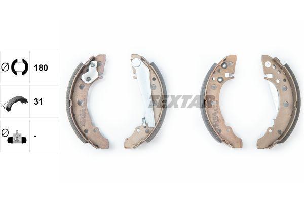 TEXTAR  91018200 Bremsbackensatz Breite: 31mm