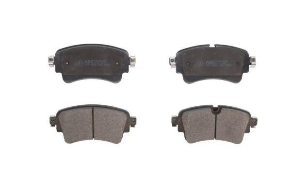 ABE  C2A010ABE Brake Pad Set, disc brake Width: 129,2mm, Height: 59,1mm, Thickness: 17,5mm