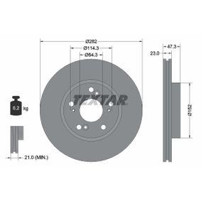 Brake Disc 92128400 CR-V 2 (RD) 2.0 MY 2004