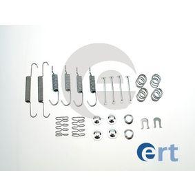Zubehörsatz, Feststellbremsbacken 310101 IMPREZA Schrägheck (GR, GH, G3) 2.5 WRX STI AWD (GRF) Bj 2013