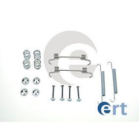 ERT  310104 Комплект принадлежности, челюсти за ръчна спирачка