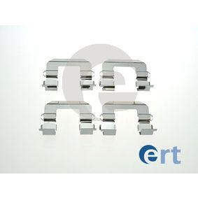 ERT  420199 Комплект принадлежности, дискови накладки