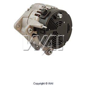 Lichtmaschine Rippenanzahl: 7 mit OEM-Nummer A 010 154 21 02