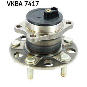 Kit cuscinetto ruota VKBA 7417 ASX (GA_W_) 1.6 LPG ac 2011