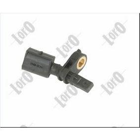 Sensor, Raddrehzahl Anzahl der Prüfkontakte (pins): 2 mit OEM-Nummer 6Q0 927 803A
