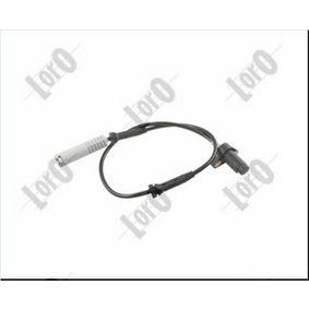 Sensor, Raddrehzahl Anzahl der Prüfkontakte (pins): 2 mit OEM-Nummer 34521182159