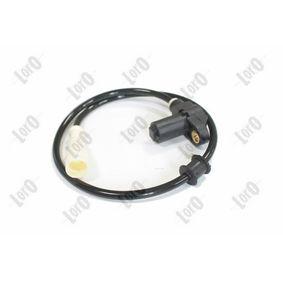 Sensor, Raddrehzahl Anzahl der Prüfkontakte (pins): 2 mit OEM-Nummer 1238 918