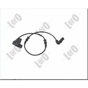 Sensor, Raddrehzahl Pol-Anzahl: 2-polig mit OEM-Nummer 168 540 01 17