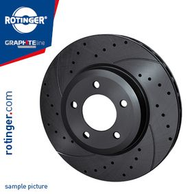 Brake Disc Brake Disc Thickness: 26mm, Num. of holes: 5, Ø: 280mm with OEM Number 51712-2C700