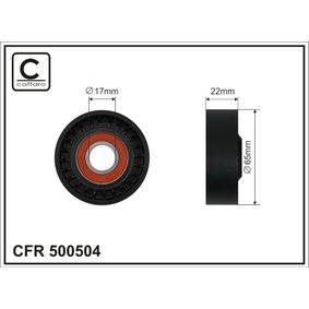 Tensioner Pulley, v-ribbed belt Width: 22mm with OEM Number 25281-2A100