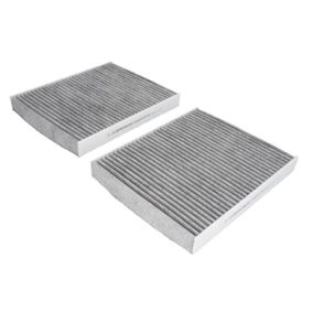 Filter, Innenraumluft Länge: 246mm, Breite: 207mm, Höhe: 30mm mit OEM-Nummer 64 11 9 163 329