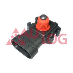 Sensor, Saugrohrdruck AS4980 CLIO 2 (BB0/1/2, CB0/1/2) 1.5 dCi Bj 2012