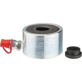 Cilindro hidráulico, fuso de extracção