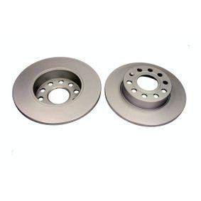 Bremsscheibe Bremsscheibendicke: 12mm, Ø: 256mm mit OEM-Nummer 1K0615601L