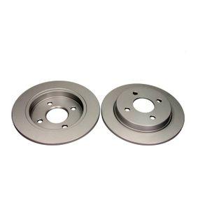 QUARO  QD5374 Bremsscheibe Bremsscheibendicke: 10,2mm, Ø: 253mm
