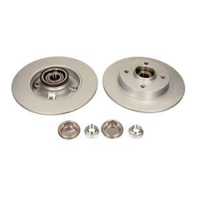 Disco de travão Espessura do disco de travão: 9,0mm, Ø: 249mm com códigos OEM 4249 34