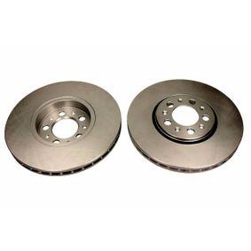 Bremsscheibe Bremsscheibendicke: 25,0mm, Ø: 287mm mit OEM-Nummer 1J0615301K