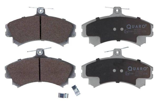 QUARO  QP0085 Bremsbelagsatz, Scheibenbremse Breite: 130mm, Höhe: 72,7mm, Dicke/Stärke: 17,4mm