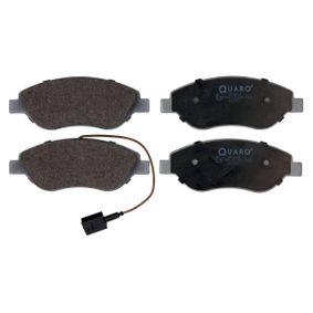 Bremsbelagsatz, Scheibenbremse Breite: 150,8mm, Höhe: 57,4mm, Dicke/Stärke: 19,4mm mit OEM-Nummer 7736 5188