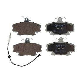 Bremsbelagsatz, Scheibenbremse Breite: 100,1mm, Höhe: 64,8mm, Dicke/Stärke: 18,2mm mit OEM-Nummer 6000 008 126