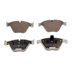 Bremsbelagsatz, Scheibenbremse Breite: 155,3mm, Höhe: 68,3mm, Dicke/Stärke: 20,3mm mit OEM-Nummer 34116794917