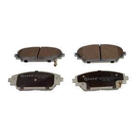 Brake Pad Set, disc brake Width: 142,1mm, Height: 55,6mm, Thickness: 15,8mm with OEM Number BHY13328ZA9C