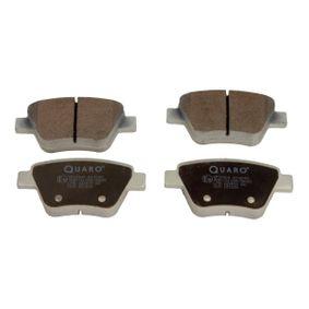 Bremsbelagsatz, Scheibenbremse Breite: 109,2mm, Höhe: 53,3mm, Dicke/Stärke: 17,7mm mit OEM-Nummer 5K0 698 451 A