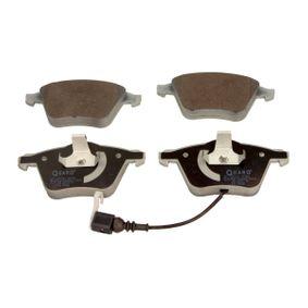 Bremsbelagsatz, Scheibenbremse Breite: 155,3mm, Höhe: 72,9mm, Dicke/Stärke: 20,4mm mit OEM-Nummer 8J0.698.151A