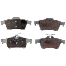 2012 Mazda 3 BL 2.0 (BLEFP) Brake Pad Set, disc brake QP2195