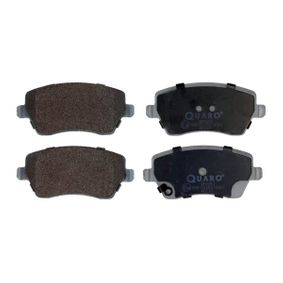 Brake Pad Set, disc brake Width: 116,5mm, Height: 51,9mm, Thickness: 17,3mm with OEM Number 55810 62J 31
